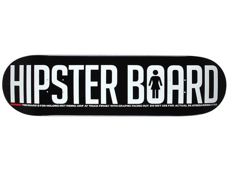 "Zapas 68: Girl ""Hipster Board"""