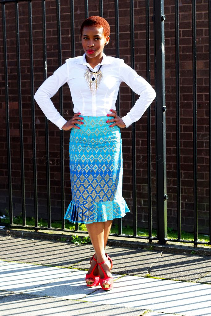 pleatedhempencilskirt, #kitengepencilskirt, #ankarapencilskirt, # ...