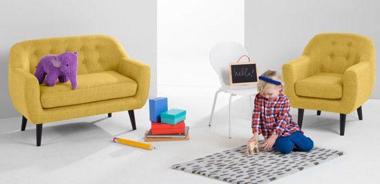 Midcentury kids: Mini Ritchie seating range at Made