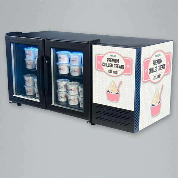 The STC-50, 50L capacity countertop cooler. Designed specifically to fit on shelves or countertops.