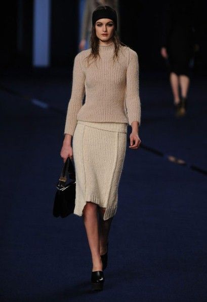 Perfect for a cooler autumn-Paris Fashion Week: Sonia Rykiel autumn/winter 2012 - Telegraph