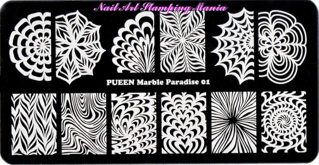 Nail Art Stamping Mania: Pueen - THEME PARK COLLECTION - Stamping Plates Review