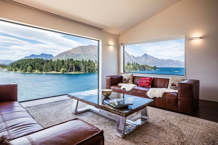 Entire home/apt in Queenstown, NZ. Spectacular in every way, with 5 bedrooms, 5.5 bathrooms, separate media room and four different outdoor areas, this 430 square metre home provides ample privacy and space for 10 guests. Boasting great features for the perfect Queenstown holiday: ...