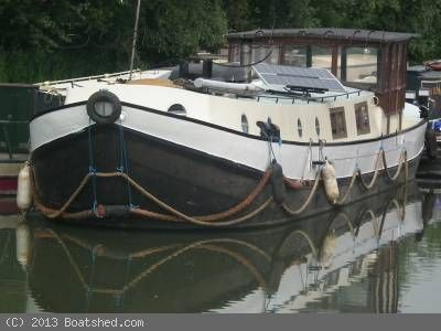 Dutch Barge 17m Live Aboard