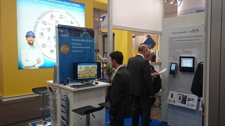 iMes Solutions GmbH auf der Hannover Messe 2015