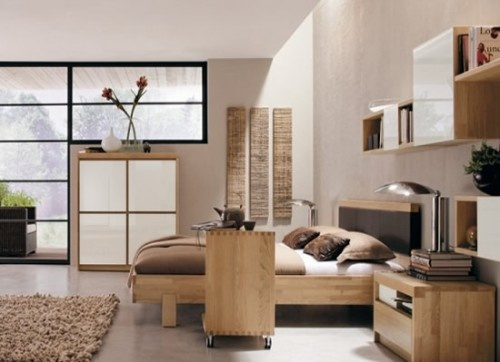 Japenese modern bedroom furniture