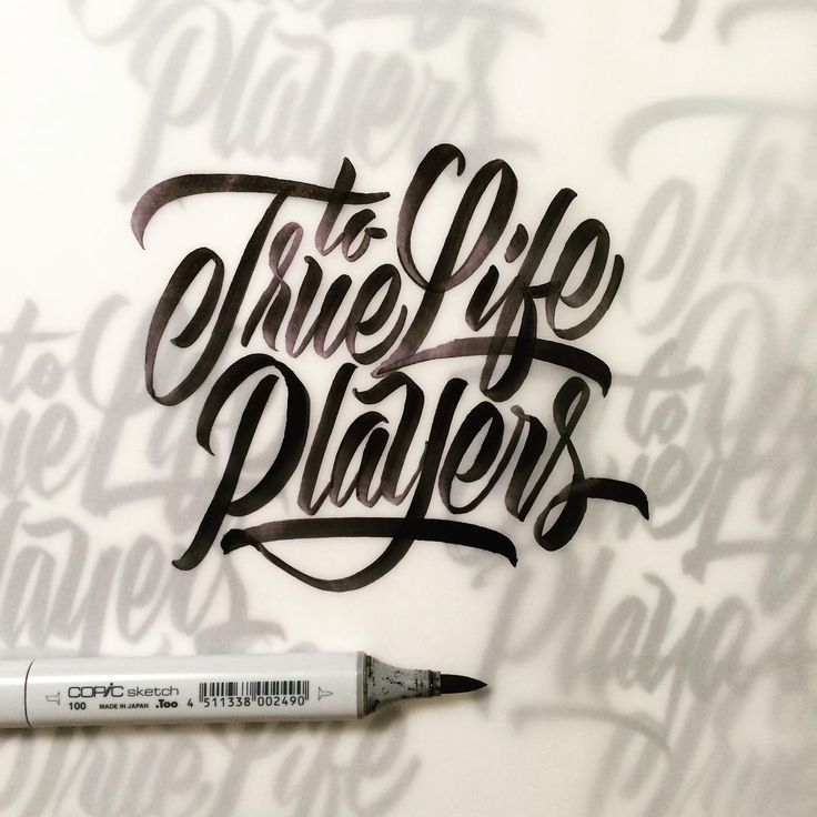 Best say it with hand lettering images on pinterest