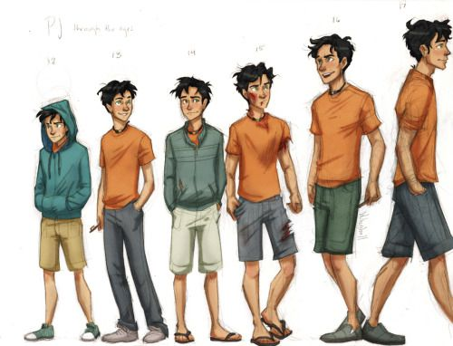 Remember when Annabeth was taller than Percy and he was embarrassed by it!!