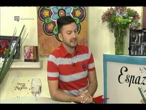 Espazio Ideal Pintura en Madera 8 de febrero 2016 Telecafé - YouTube