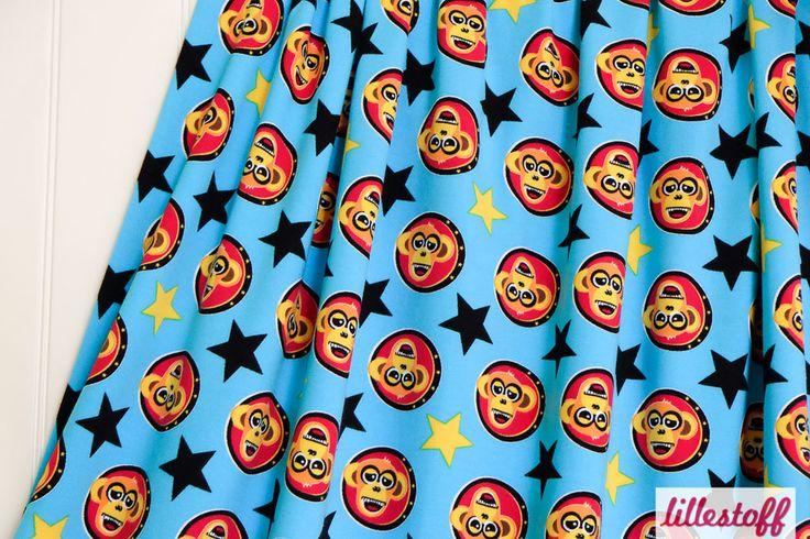Lillestoff » Monkeytile « // hier erhältlich: http://www.lillestoff.com/monkeytile-1298.html