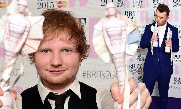 Ed Sheeran and Sam Smith lead the 2015 BRIT Awards winners