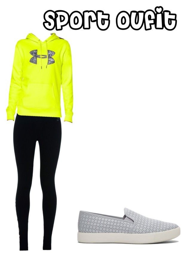 Sin título #127 by fashiongirl-cdxx on Polyvore featuring moda, Under Armour and NIKE