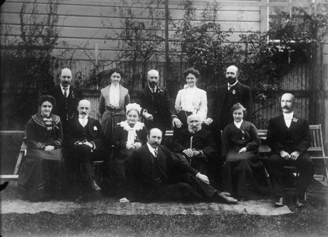 Gibbons family at the Diamond wedding of Robert and Sarah Gibbons