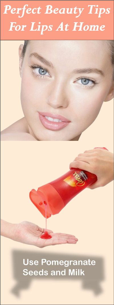 """""""Every woman prefers to have glowing and pink lips. Pinkish lips enhance your appeal. Discover some Perfect Beauty Tips For Lips At Home."""