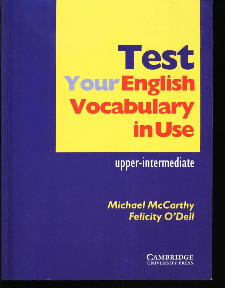 Test your english vocabulary in use - upper-intermediate  No Description