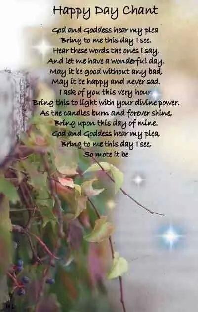 Happy Day Chant