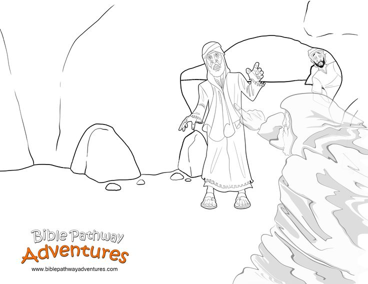Saul disobeys god page coloring pages for Bible coloring pages king saul