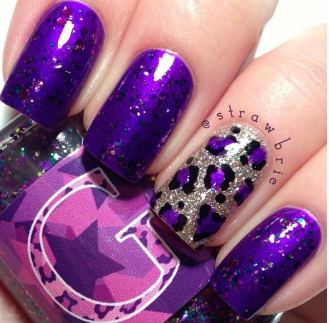 51 fotos de unhas decoradas de oncinhas para 2014 More - Best 20+ Purple Nail Designs Ideas On Pinterest Fun Nail Designs