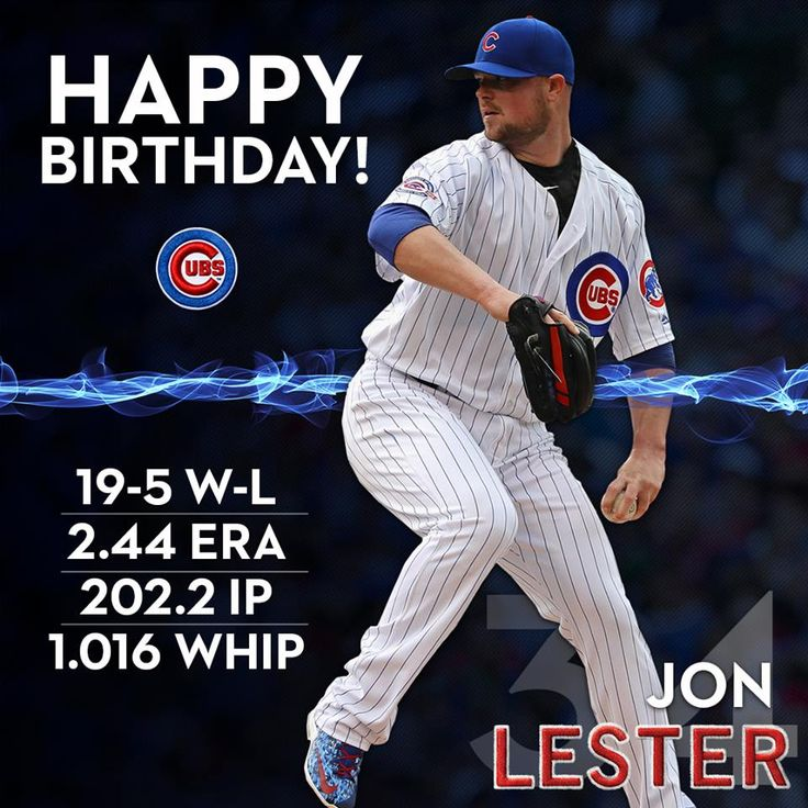 Happy Birthday Jon Lester!