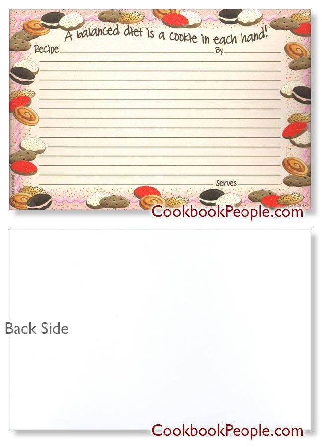 10 best Recipe cards images on Pinterest Recipe cards, Card card - recipe card