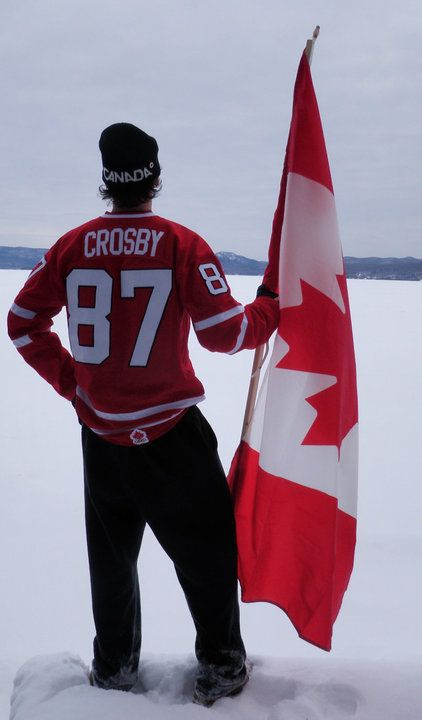 Sidney Crosby. So many awesome things in one picture!!!