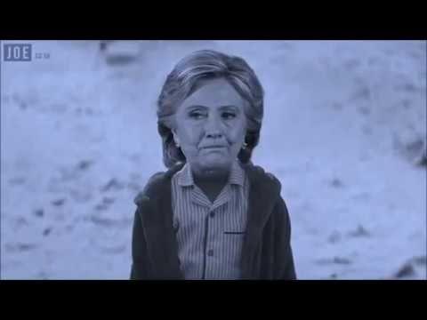 Il regalo di Natale alla bambina Hillary Clinton dal papà Obama .. il ca...