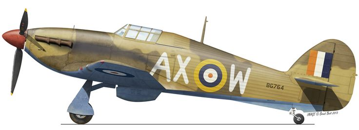 SAAF Hawker Hurricane - North Africa