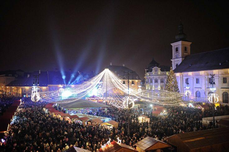 Targul de Craciun din Sibiu / 22 noiembrie-26 decembrie 2013
