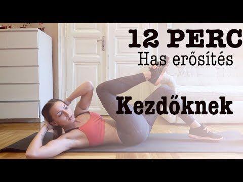 HAS ERŐSÍTÉSE 12 PERC ALATT KEZDŐKNEK! - YouTube