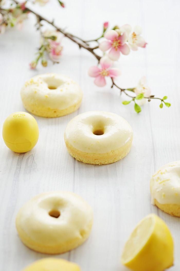Zitronen Kokos Donuts