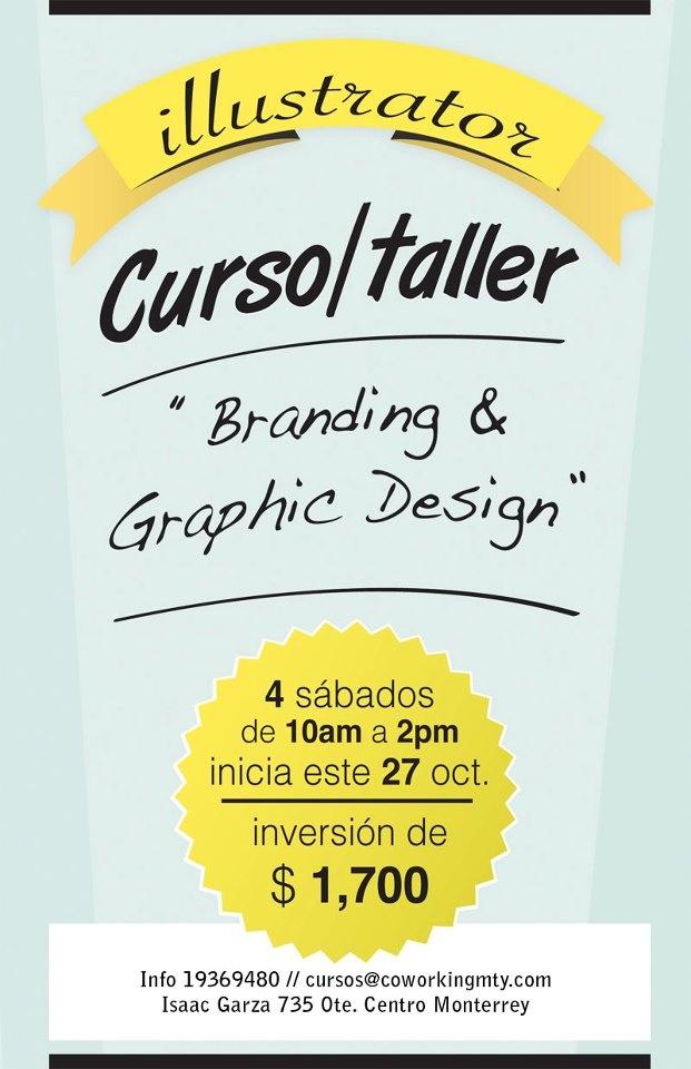 Curso-Taller de Ilustrador | Branding & Graphic Design | Coworking Monterrey - Espacio Creativo