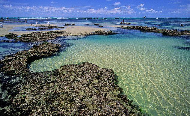 Piscinas naturais em Flecheiras: para mergulhos inesquecíveis