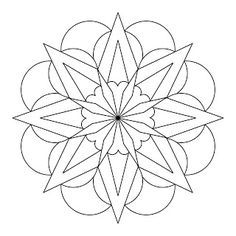 easy mandala designs to draw - Google Search