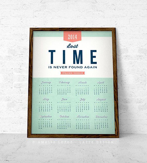 Calendar Typography Tips : Unique calendar printing ideas on pinterest free