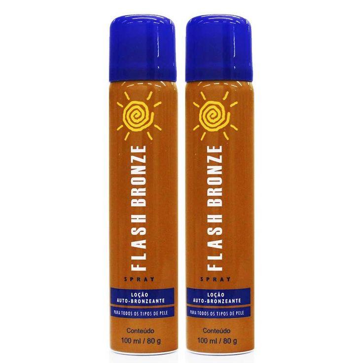 spray autobronzeador flash bronze