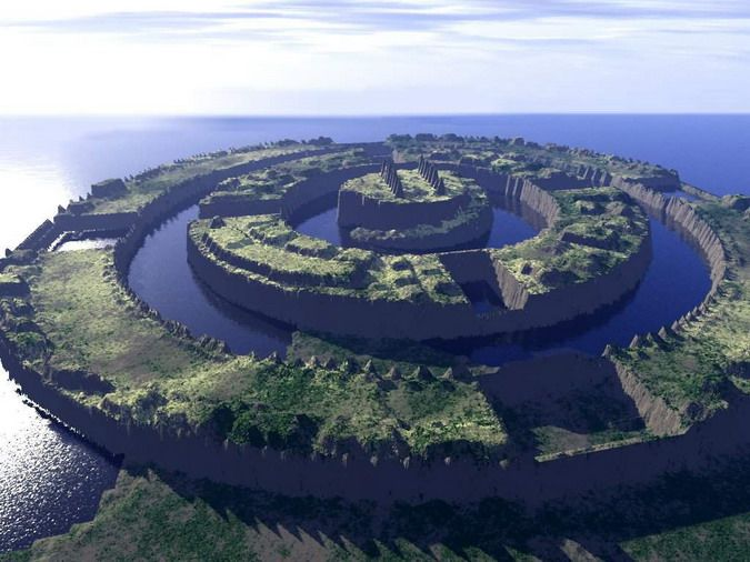 the lost city of atlantis | legendary lost city of atlantis found in southern spain archeologists ...