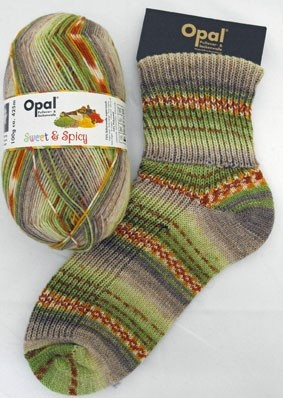 "Woolstack - Opal ""Sweet and Spicy"" Sock Yarn - Spices (6755), £7.95 (http://www.woolstack.co.uk/opal-sweet-and-spicy-sock-yarn-spices-6755/)"
