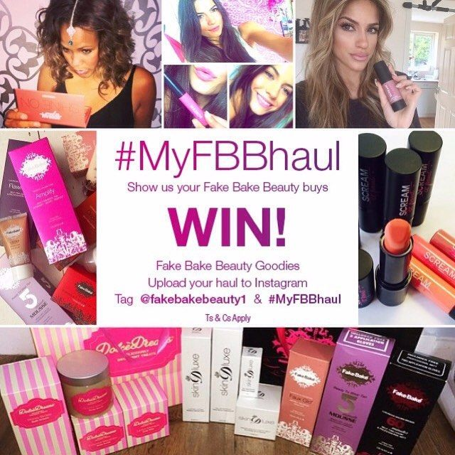Have you seen our @fakebakebeauty1 Instagram account? It's dedicated to all things Fake Bake Beauty at Home.