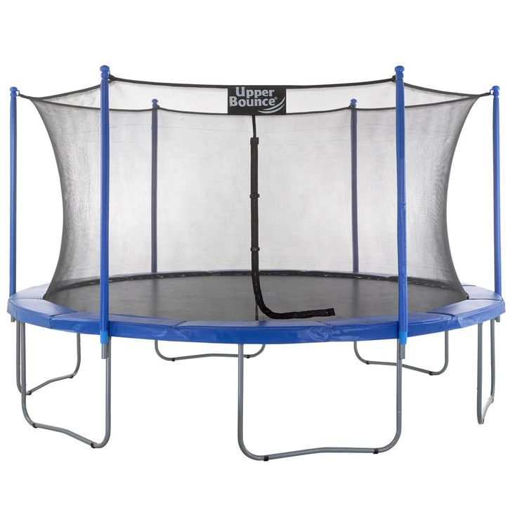 15 ft. Trampoline and Enclosure Set Equipped with Easy Assemble Feature