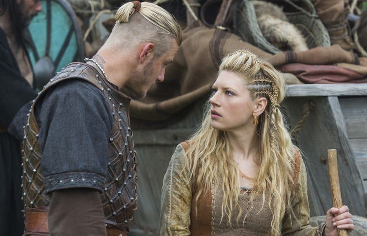 bjorn and lagertha in vikings season 3 wallpaper