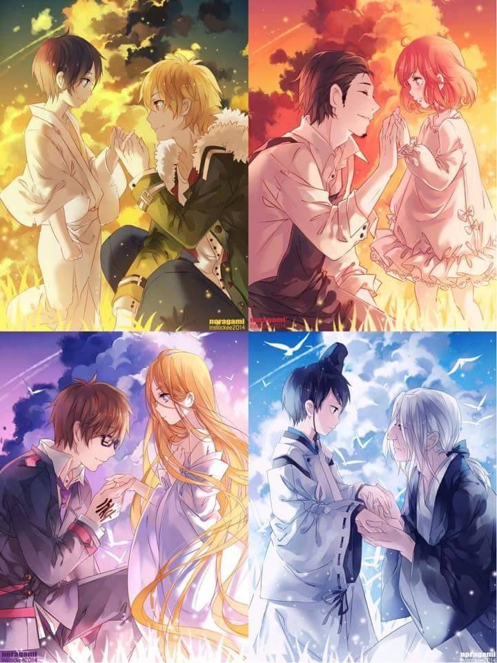 Girl N Boy Hug Wallpapers Noragami 720 215 960 Bleach Anime Noragami Anime Noragami