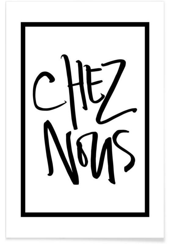 Chez Nous en Affiche premium par Kristen Polsinelli | JUNIQE