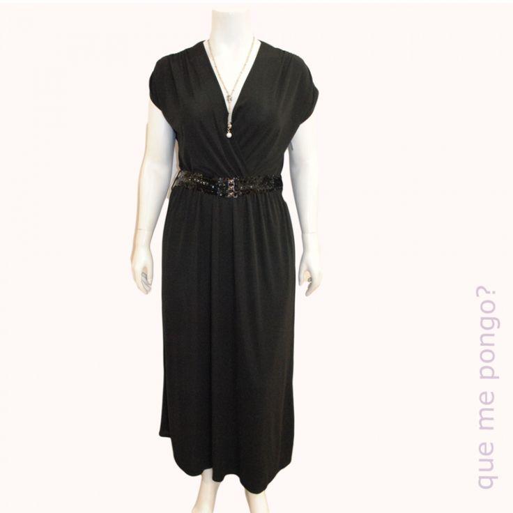 Vestido Japones negro