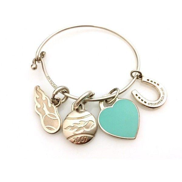 b2fa90185dc81 Pre-owned Tiffany & Co Return to Tiffany Silver Bracelet ($595 ...