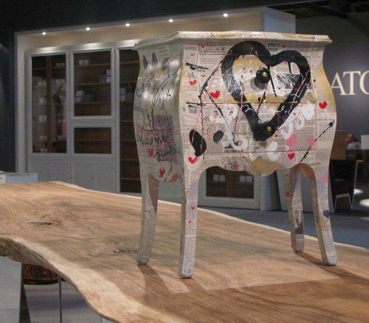 Arredi e mobili originali dipinti a mano arredamenti - Mobili colorati design ...
