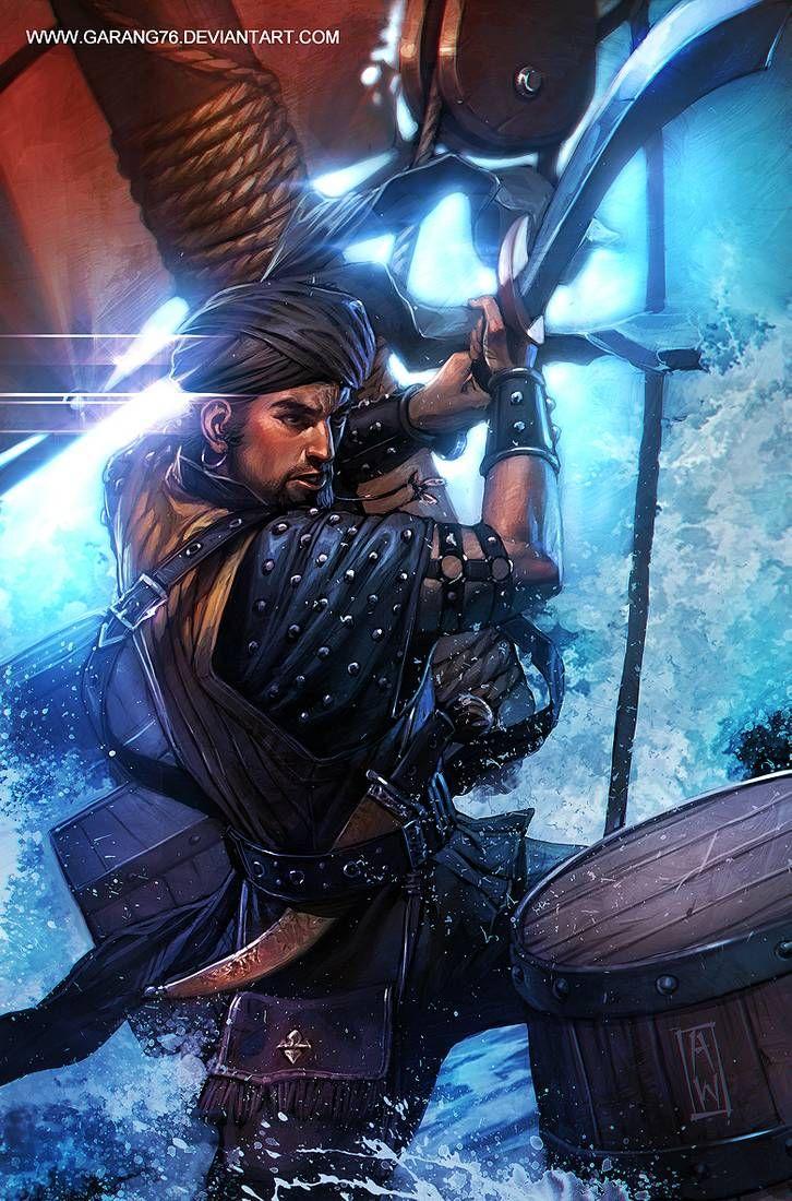 Sinbad Cover Art By Admirawijaya Character Art Pirate Art