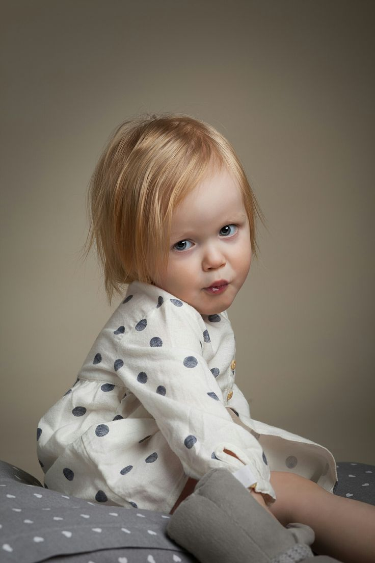 2 year portrait of a girl.  By Marko Roppo Photography