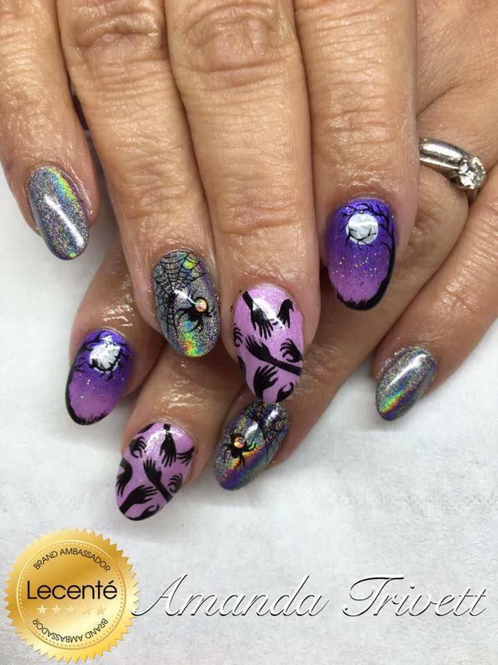 31 Best Halloween Nails Images On Pinterest