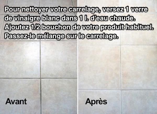 Carrelage Encrasse Dans La Salle De Bains Utilisez Le Vinaigre Blanc Carrelage Salle De Bain Vinaigre Blanc Et Nettoyage Carrelage