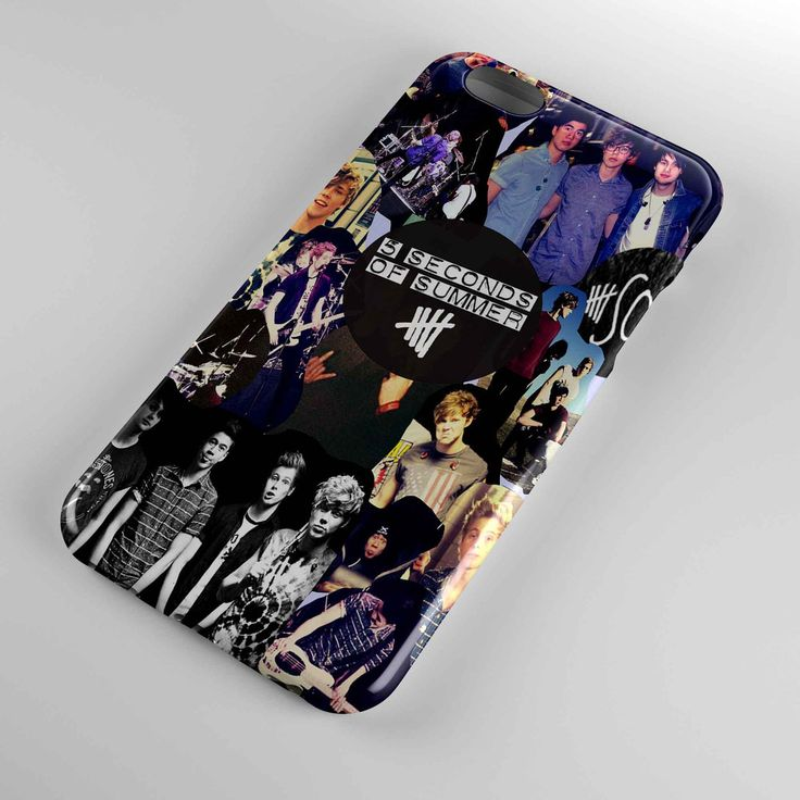 5 seconds of summer collage cover for iphone and samsung galaxy case